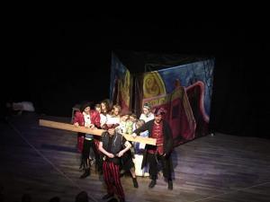 Kapten Krok och Smee - Peter Pan