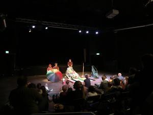 Föreställningsbild av Dammlotta och Bubbelbjörn