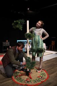 Pettson och Findus fixar en julgran