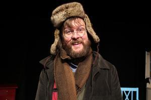 Gubben Pettson från Pettson får julbesök